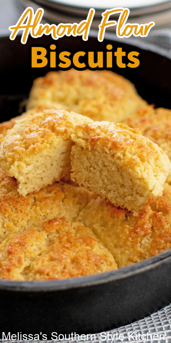 These buttery Almond Flour Biscuits can be enjoyed at any mealwith butter and jam, stuffed with ham and eggs or for breakfast and brunch #almondflourbiscuits #biscuits #southernbuttermilkbiscuits #bestbiscuitrecipes #southernrecipes #homemadebiscuits #breadrecipes #glutenfreebiscuits #ketobiscuits #glutenfreerecipes