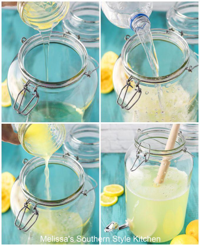 Homemade Lemonade Recipe ingredients