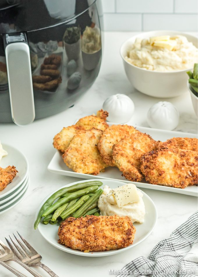 Southern Style Air Fryer Pork Chops recipe