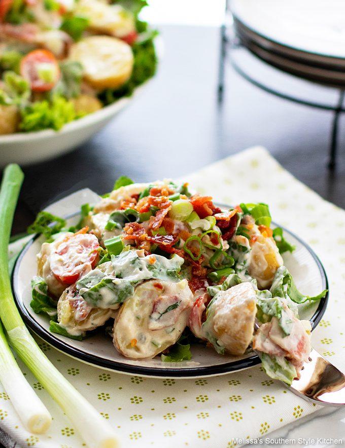 Southern style BLT Potato Salad