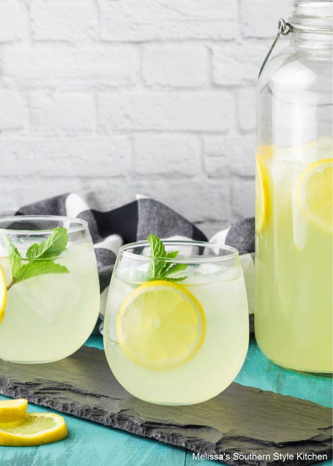 Southern style Homemade Lemonade Recipe