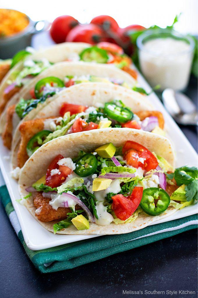 best Beer Battered Fish Tacos