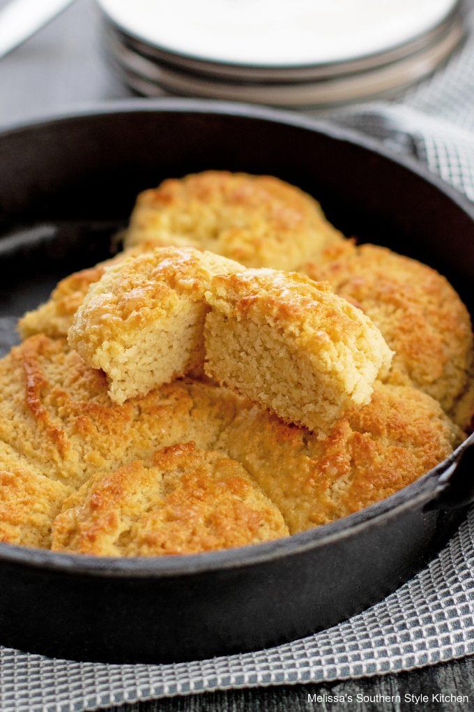 cut biscuit Almond Flour Biscuits