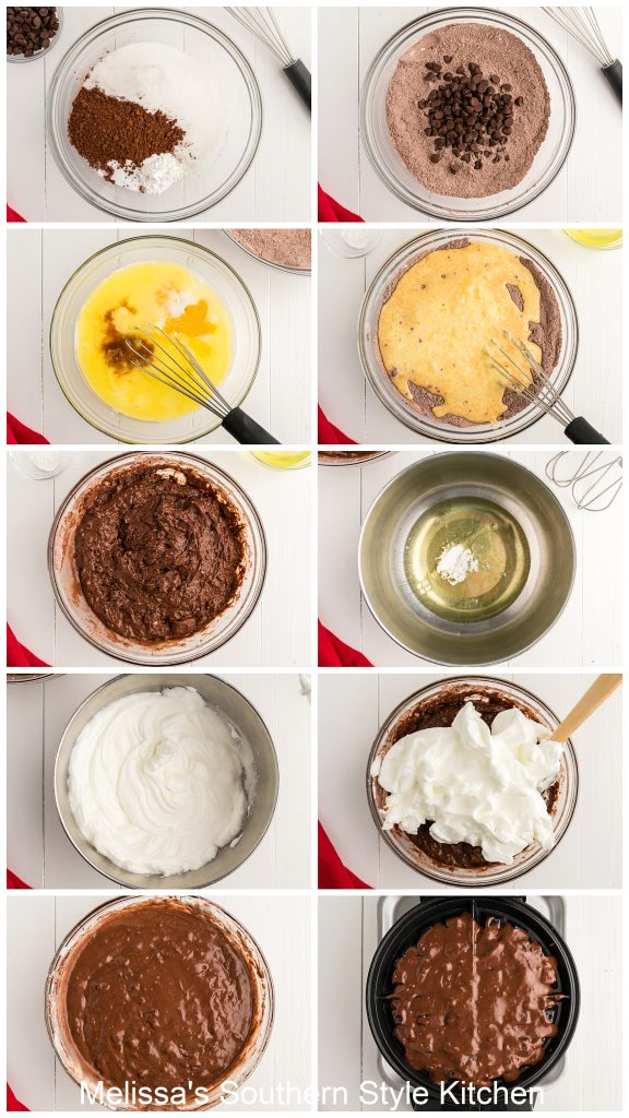 ingredients to make Double Chocolate Buttermilk Waffles