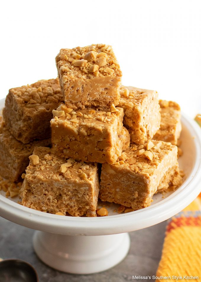 no bake Peanut Butter Crunch Bars