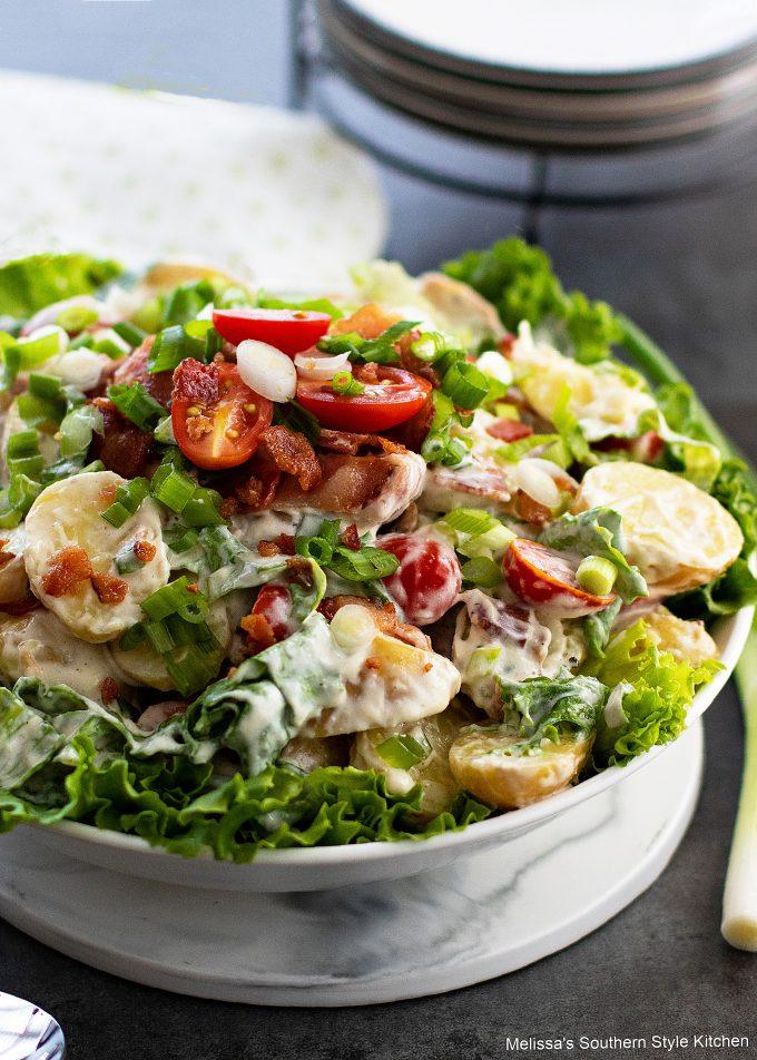 prepared BLT Potato Salad