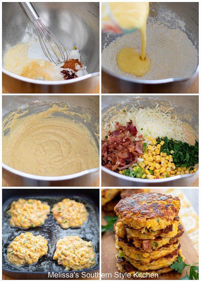 Loaded Corn Cakes ingredients