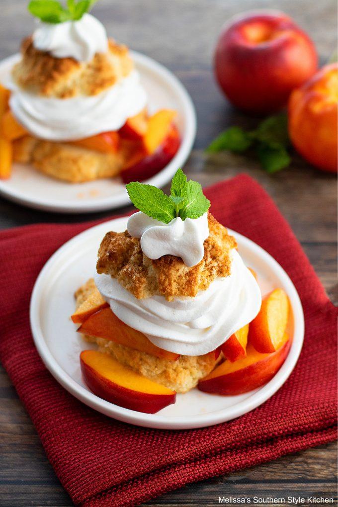 Southern style Peach Shortcake