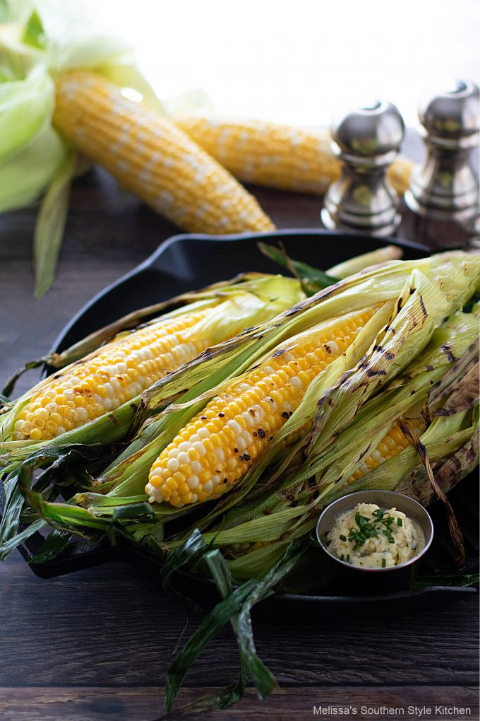 best ever Grilled Corn on the Cob