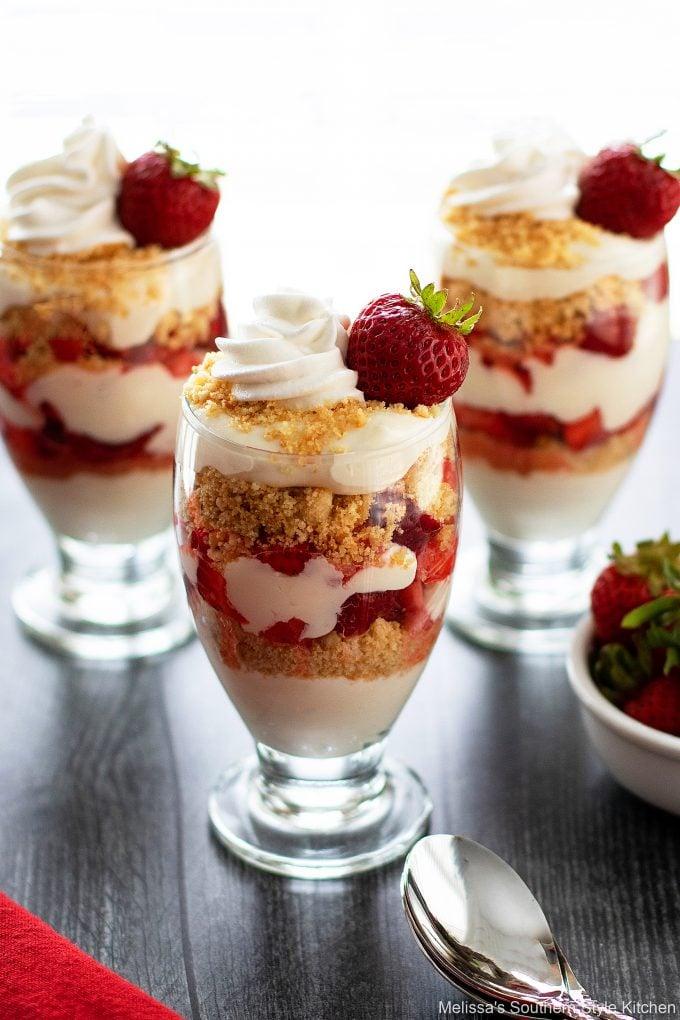 best ever Strawberry Parfaits