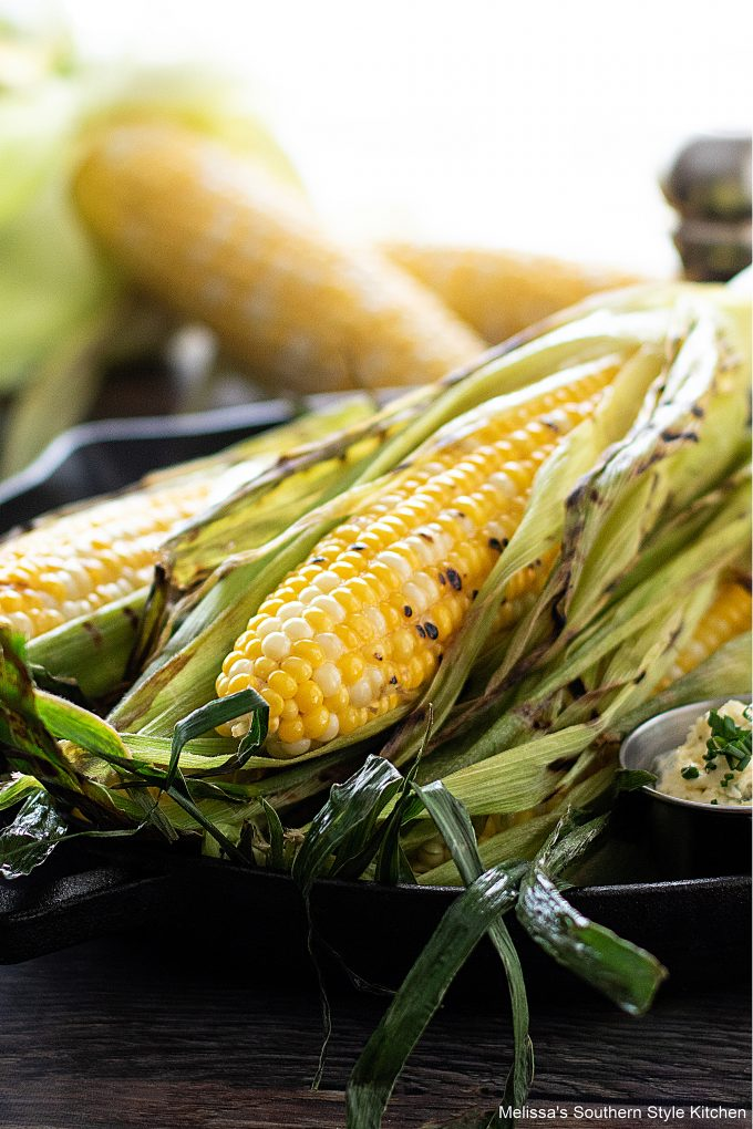 easy easy Grilled Corn on the Cob