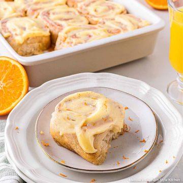 easy Orange Cinnamon Rolls
