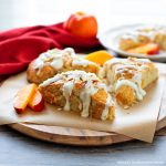 homemade Peach Scones recipe