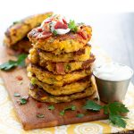 how to make Loaded Corn Cakes
