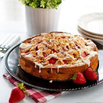 Fresh Strawberry Coffee Cake recipe