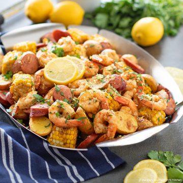 Sheet Pan Shrimp Boil recipe
