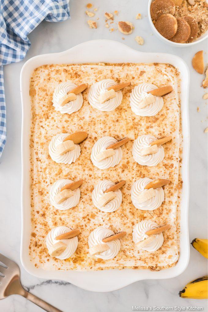 Southern style Banana Pudding Lush