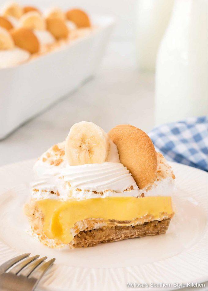 best single piece Banana Pudding Lush