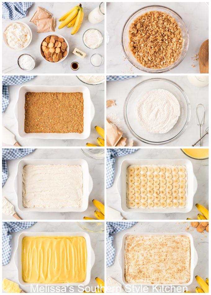 how to make Banana Pudding Lush