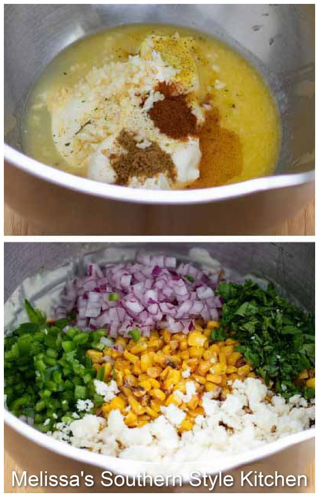 ingredients to make Mexican Street Corn Salad