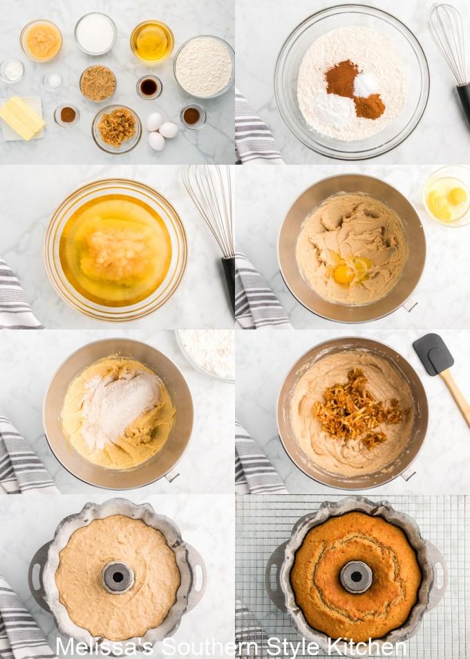 ingredients-to-make-apple-cider-doughnut-cake