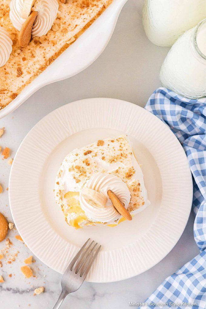plated Banana Pudding Lush