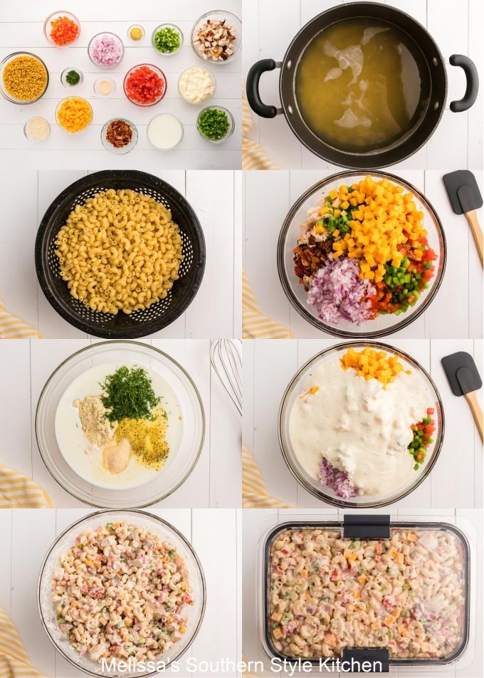 ingredients-to-make-chicken-ranch-pasta-salad