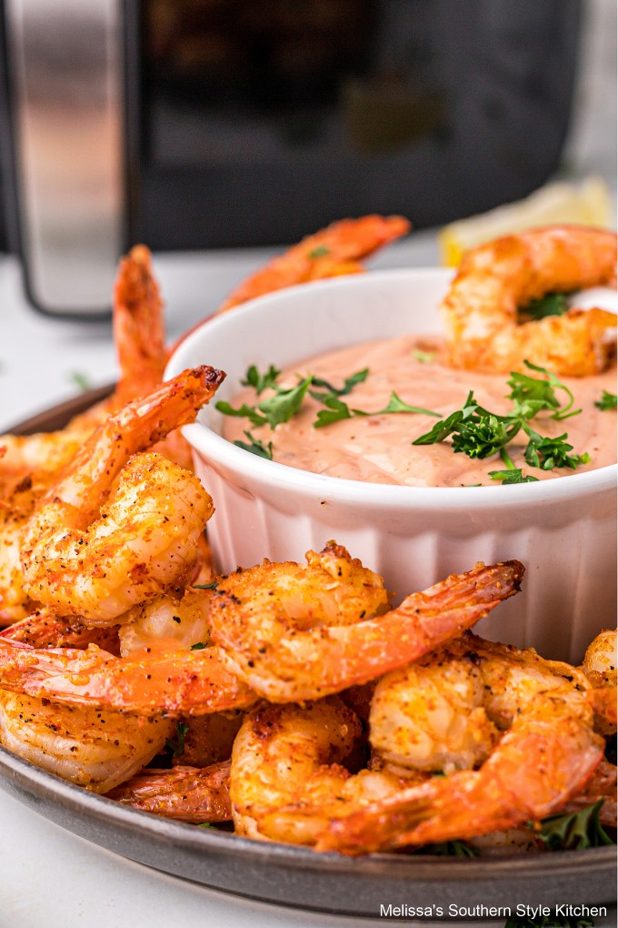 air-fryer-shrimp-with-spicy-remoulade-sauce
