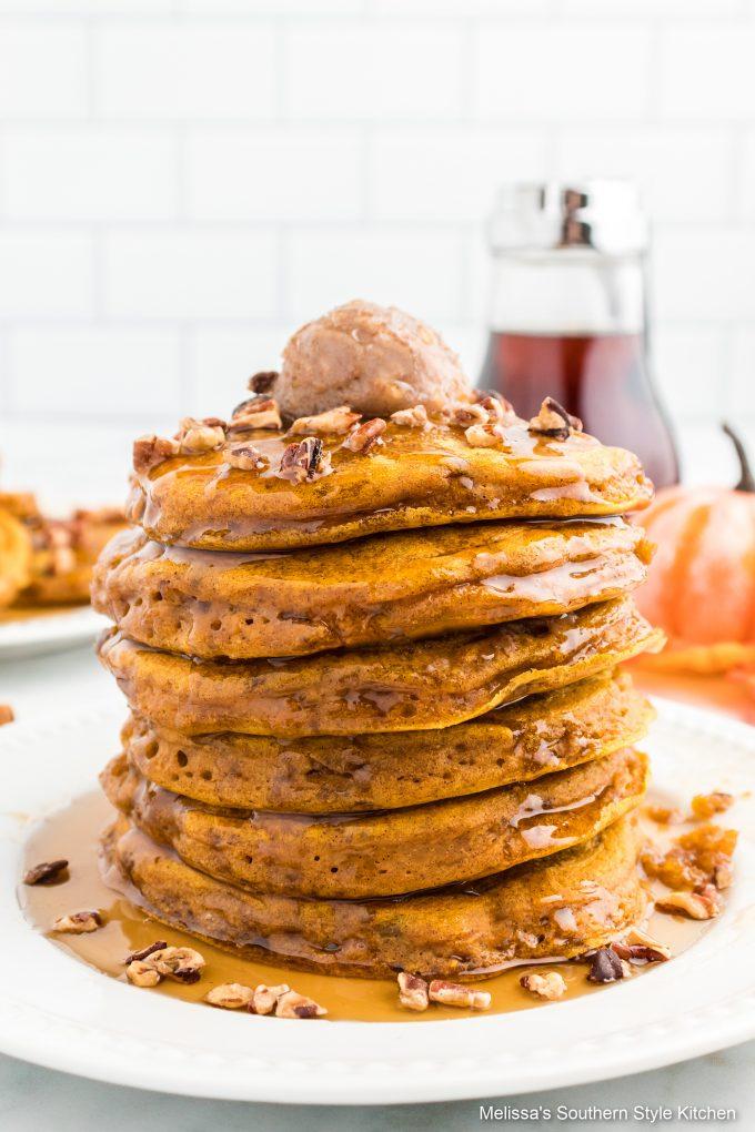 homemade-pumpkin-pancakes