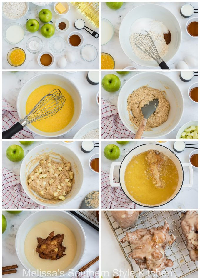 ingredients-to-make-apple-fritters