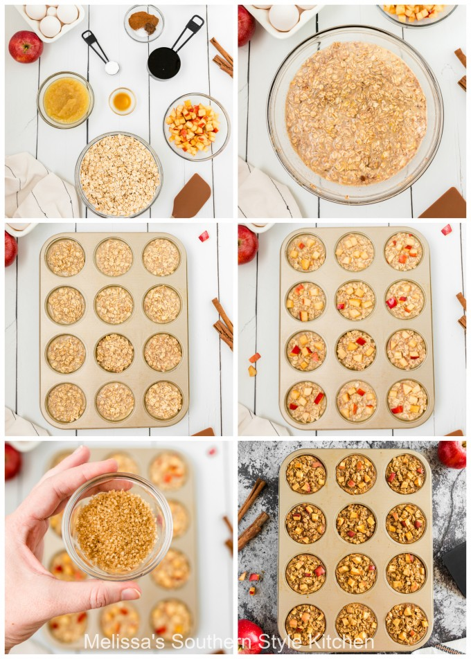 ingredients-to-make-apple-oatmeal-cups