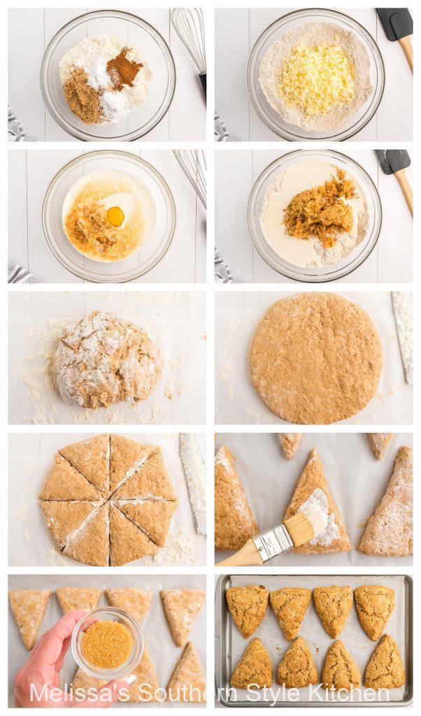 ingredients-to-make-caramel-apple-scones