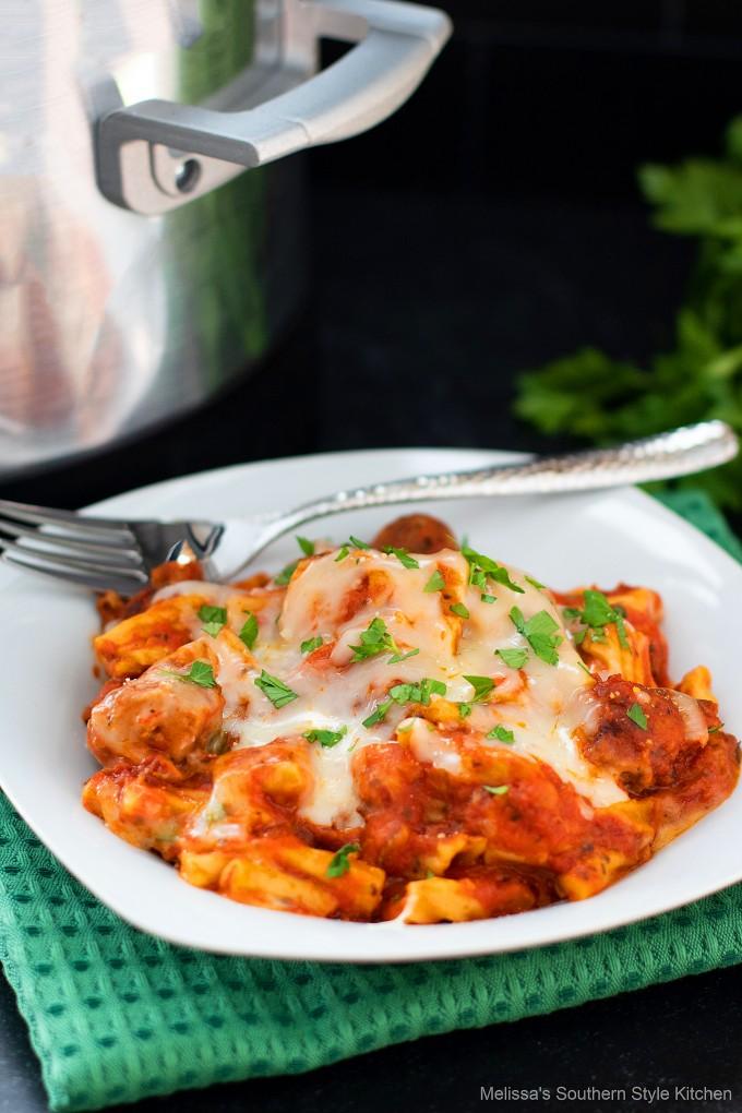 plated-crock-pot-pasta-casserole-recipe