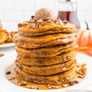 pumpkin-pancakes-recipe-with-maple-cinnamon-butter