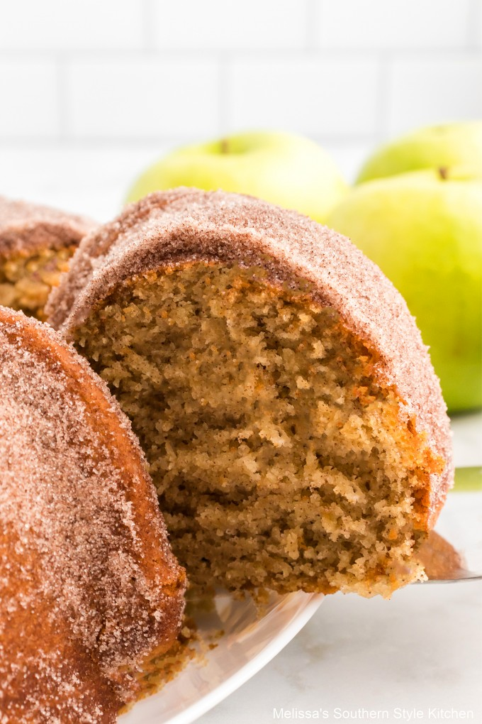 single-slice-apple-cider-doughnut-cake
